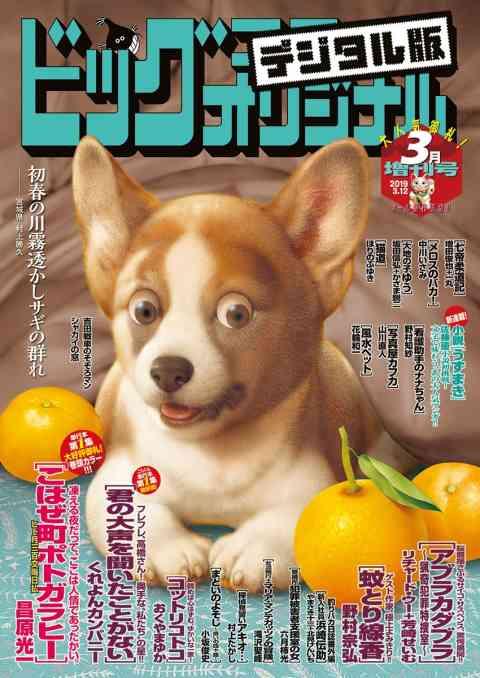 ビッグコミックオリジナル増刊 2019年3月増刊号(2019年2月12日発売)